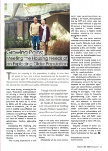 Growing Pains-Meeting the Housing Needs of Exp Older Pop-Real Estate-Feb 2017